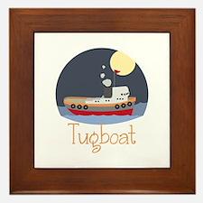Tugboat Framed Tile