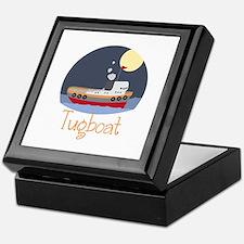 Tugboat Keepsake Box