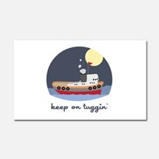 Keep On Tuggin Car Magnet 20 x 12