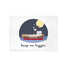 Keep On Tuggin 5'x7'Area Rug