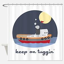 Keep On Tuggin Shower Curtain