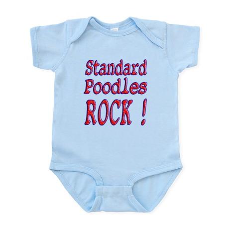 Standard Poodles Infant Bodysuit