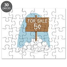 Snowballs For Sale Puzzle