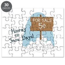 Hooray For Snow Days! Puzzle