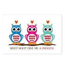 Hoot Hoot Postcards (Package of 8)