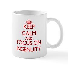 Keep Calm and focus on Ingenuity Mugs