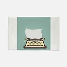Typewriter Magnets