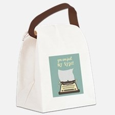 You Are Just My Type Canvas Lunch Bag