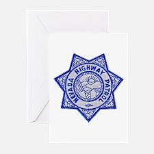 Nevada Highway Patrol Greeting Cards (Pk of 10