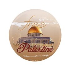 "Free Palestine 3.5"" Button (100 pack)"