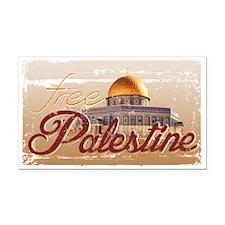 Free Palestine Rectangle Car Magnet