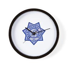 Nevada Highway Patrol Wall Clock