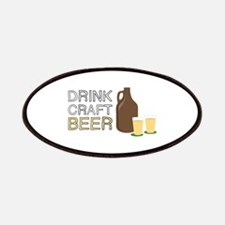 Drink Craft Beer Patches