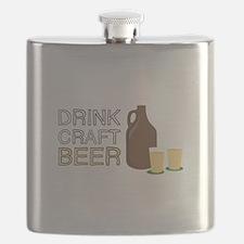 Drink Craft Beer Flask