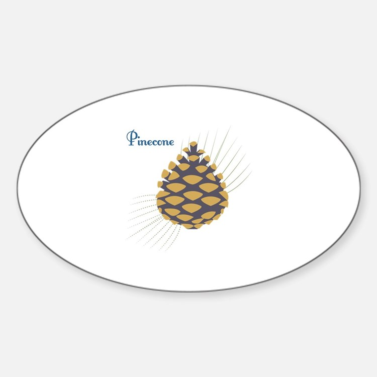 Pinecone Decal