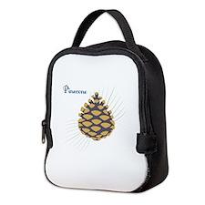Pinecone Neoprene Lunch Bag