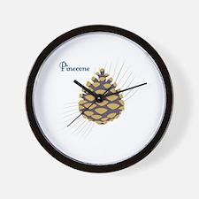 Pinecone Wall Clock