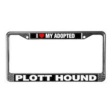 I Love My Adopted Plott Hound