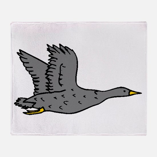 Grey Goose Throw Blanket