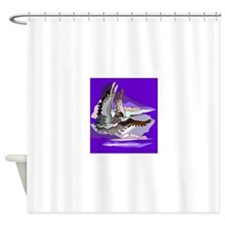 Birds In The Sky Shower Curtain