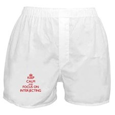 Cute I love interjections Boxer Shorts