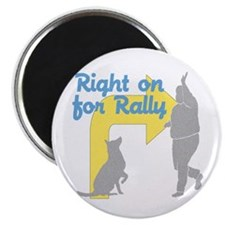 """Rally 1 2.25"""" Magnet (10 pack)"""
