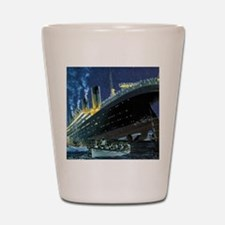 Titanic Shot Glass
