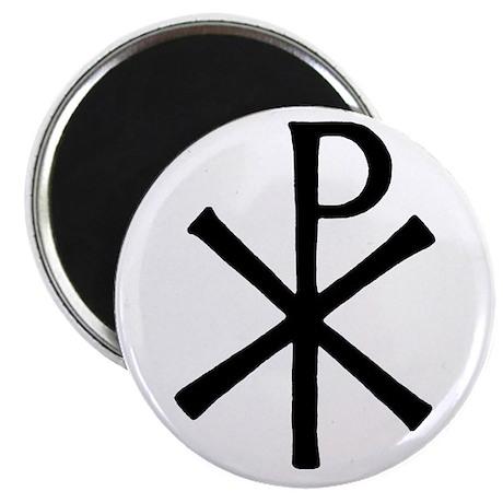 "Christian Chi-Ro Symbol 2.25"" Magnet (100 pack)"