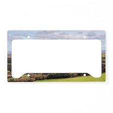 Landscape view License Plate Holder