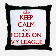 Cute Ivy league Throw Pillow