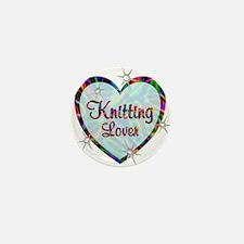 Knitting Lover Mini Button