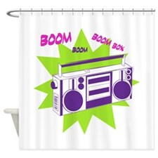 Moving To The Beat Shower Curtain