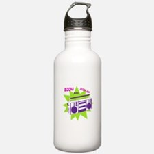 Moving To The Beat Water Bottle
