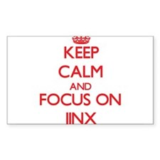 Keep Calm and focus on Jinx Decal
