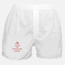 Cute I love pork Boxer Shorts
