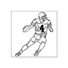 Quarterback Sticker