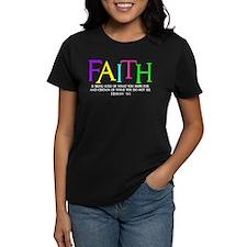 neon multi, Hebrew 11_1 T-Shirt