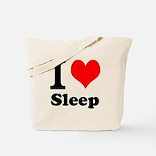 I Love Sleep Tote Bag