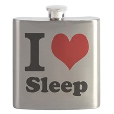 I Love Sleep Flask
