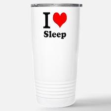 I Love Sleep Travel Mug