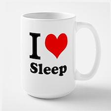I Love Sleep Mugs