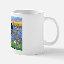 Sunrise Lilies / Doxie's Rule Mug