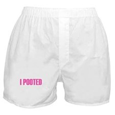 I Pooted Boxer Shorts