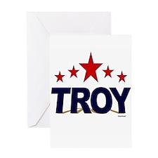 Troy Greeting Card