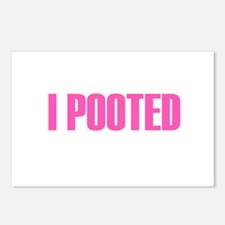 I Pooted Postcards (Package of 8)