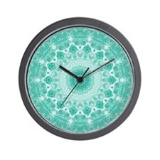 """Opening Heart Mandala"" Wall Clock"