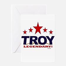 Troy Legendary Greeting Card