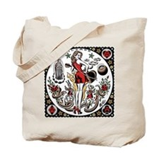 rockabilly tattoo Tote Bag