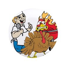 "Thanksgiving 3.5"" Button (100 pack)"