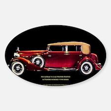 Phaeton CadillacJazz Era Touring Car Decal